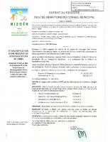 2020-04 – Etancheification réserve eau plateau Emparis travaux et demande subvention
