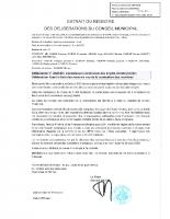 2020-35 – CCID Désignation des membre